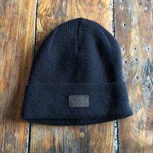 NWOT Penguin brand black beanie